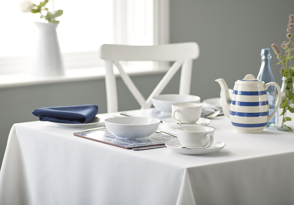 ... table linen range to complement its existing range of quality linens