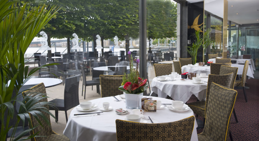 1 Royal China Canary Wharf and Outside Terrace