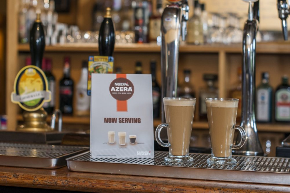 Coffee in pubs is big business. In fact, recent research has found that 40% of consumers prefer a chat with friends over a cup of coffee rather than a ...