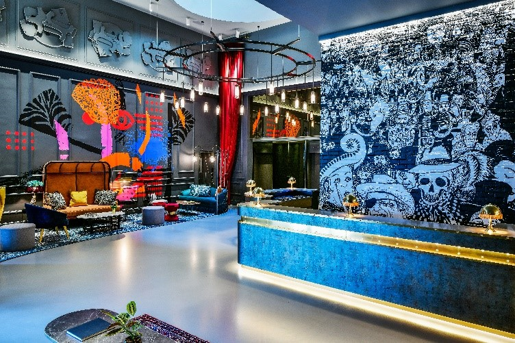 c5c42566 Five-star lifestyle hotel Andaz London Liverpool Street appointed Ara  Design International to redesign and revamp its lobby lounge experience.