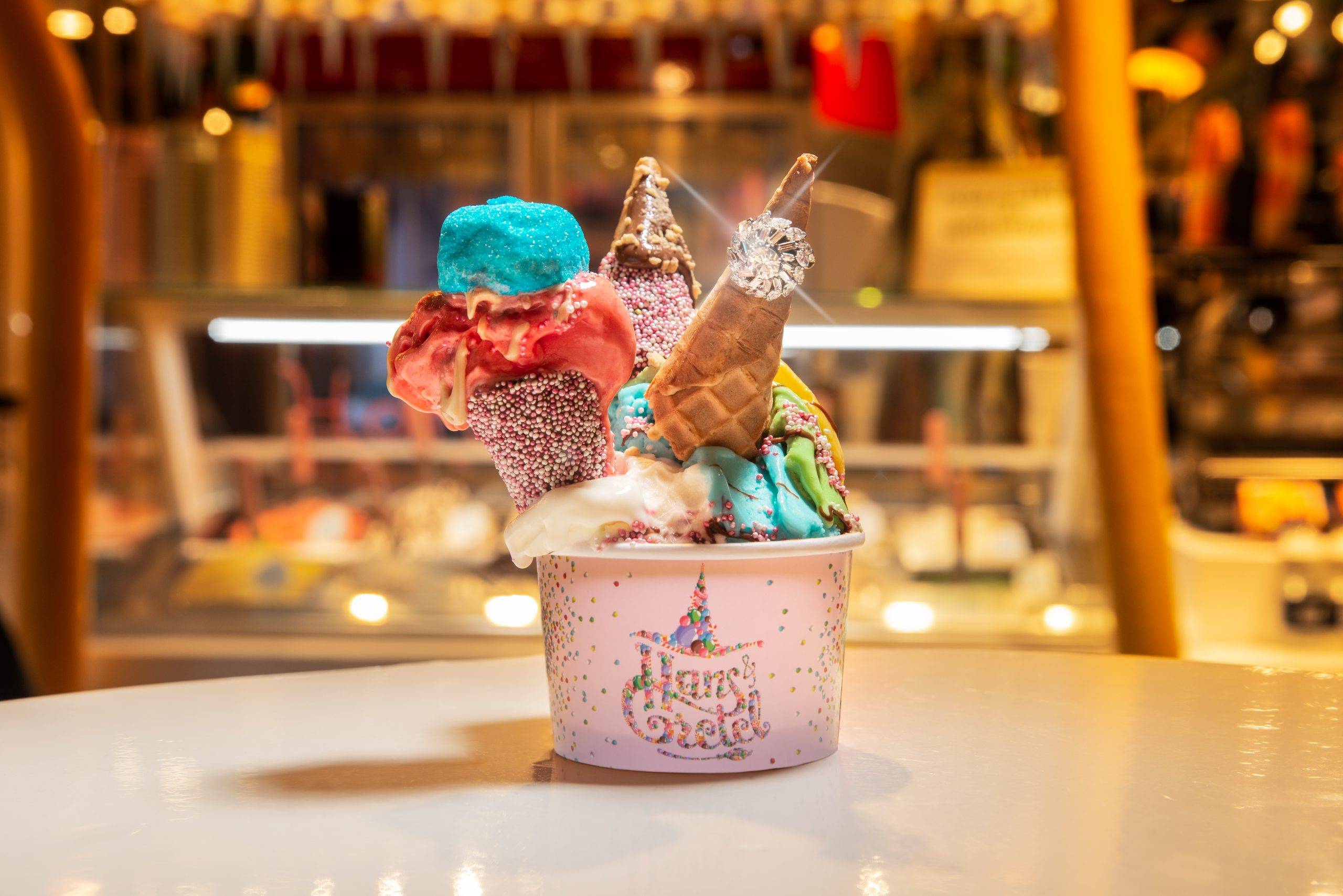 The World S Most Expensive Ice Cream For Valentine S Day Eat Drink Sleep